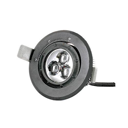 recessed spotlight / indoor / LED / round