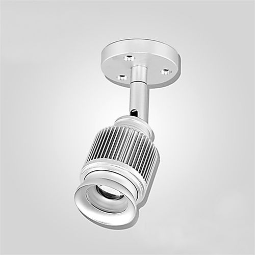 surface mounted spotlight / indoor / LED / round