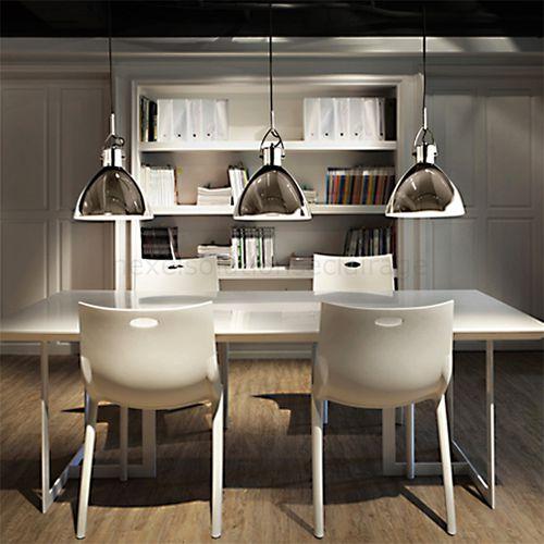 pendant lamp / contemporary / metal / orientable