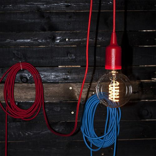Pendant lamp / contemporary / fabric / ABS GOBBI NEXEL