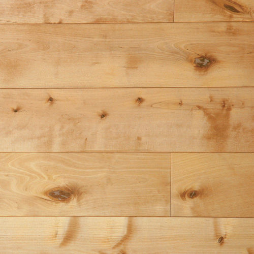 birch parquet floor / solid / glued / floating