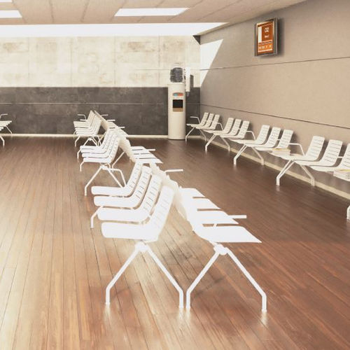 steel beam chair / 4-seater / indoor / contemporary