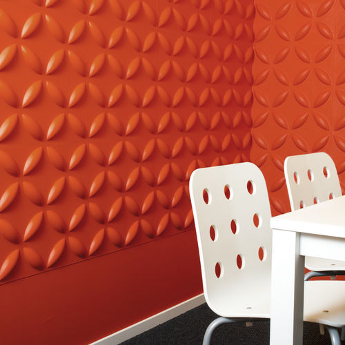 bamboo decorative panel / wall-mounted / fire-retardant / water-repellent