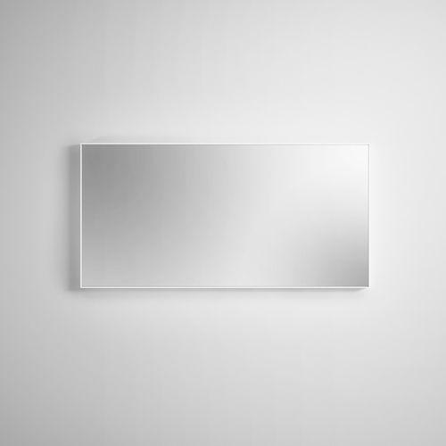 wall-mounted mirror / contemporary / rectangular / Corian®