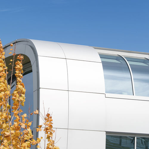 brushed aluminum roofing