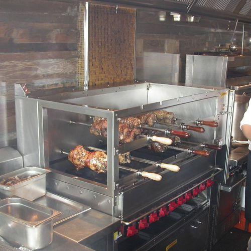 Gas rotisserie CHURRASCO Beech Ovens