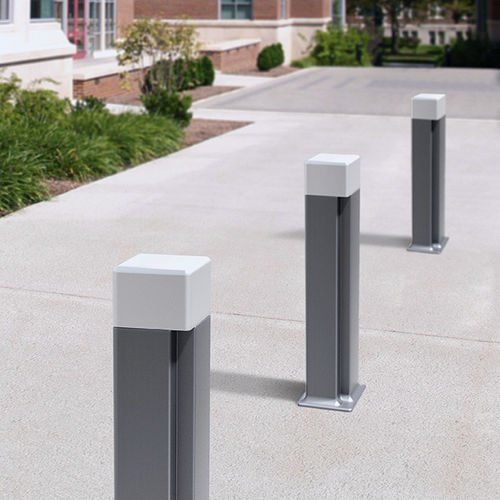 security bollard / aluminum / cast iron / removable