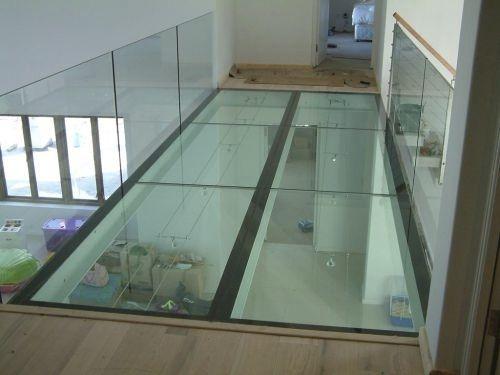 flooring glass panel / transparent