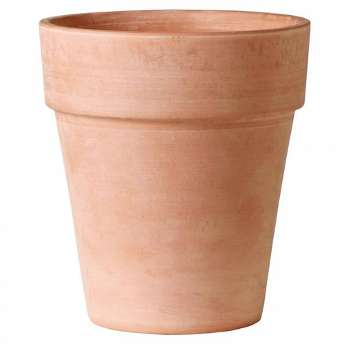 terracotta garden pot / round / conical