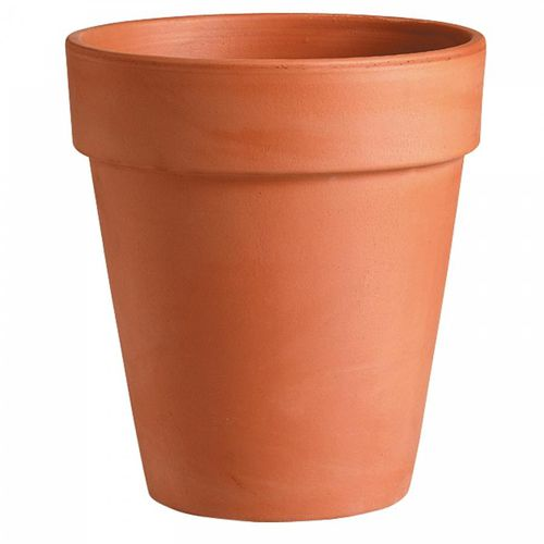 terracotta garden pot / round / conical