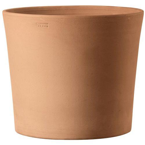 terracotta garden pot / conical / round