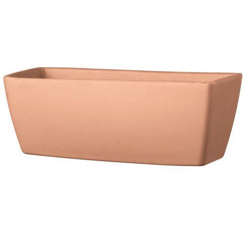 terracotta garden pot / rectangular
