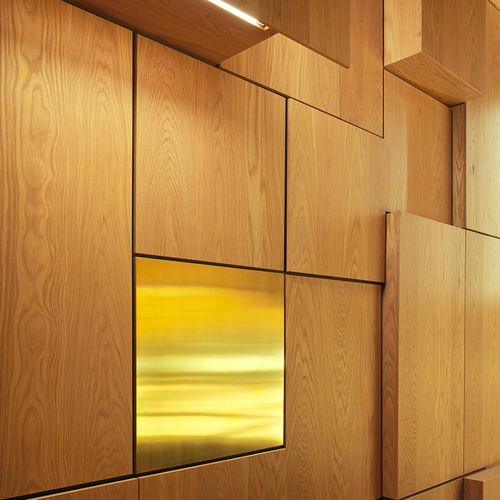 cover decorative panel / MDF / cellulose fiber / wall-mounted