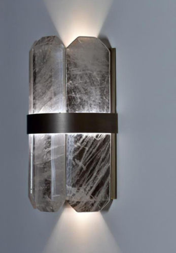 contemporary wall light / crystal / LED