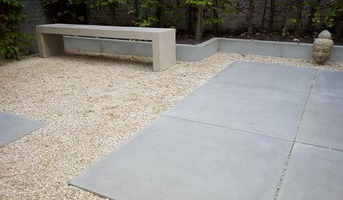 Garden edge / concrete / linear SMOOTH GREY VELVET Stone & Style