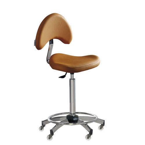 leather task stool - Medical & Beauty