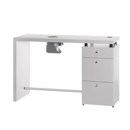 Manicure table with vacuum cleaner LOGIC  Medical & Beauty