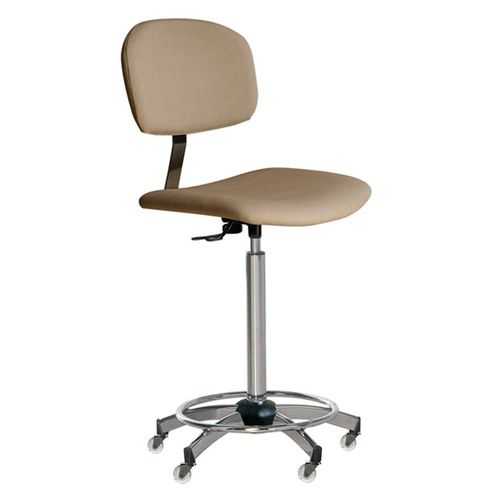 contemporary chair / adjustable / on casters / commercial