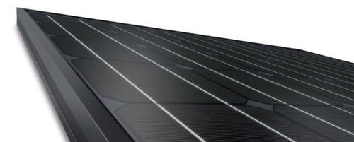 Monocrystalline PV solar panel / standard / for roofs / black 230/02 Solon