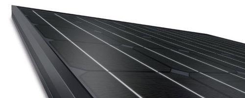 Monocrystalline PV panel / standard / for roofs / black 230/02 Solon