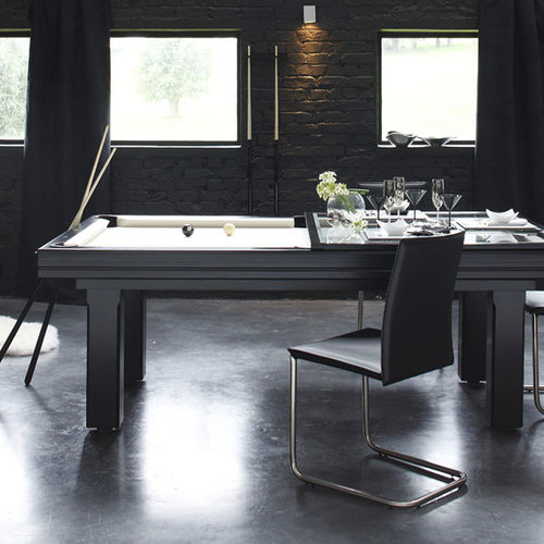 Contemporary pool table / convertible dining tables BROADWAY Billards Toulet - Baby-foot Debuchy by Toulet