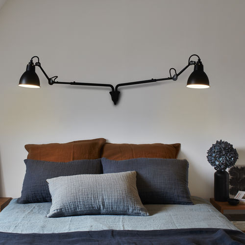 contemporary wall light / steel / LED / IP20