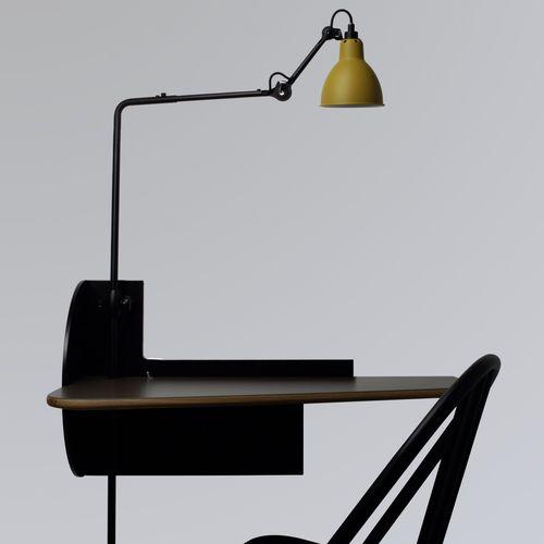 desk lamp / contemporary / aluminum / red