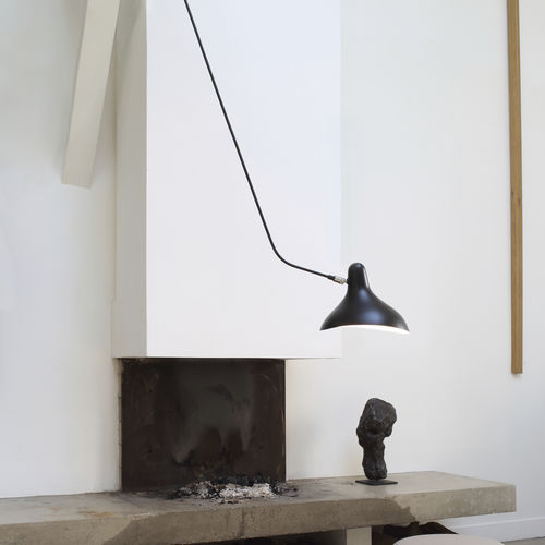 contemporary ceiling light / aluminum / steel / compact fluorescent