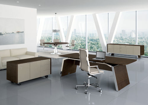 Executive desk / wooden / contemporary / commercial METAR Bralco