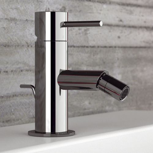 bidet mixer tap / chrome-plated brass / bathroom / 1-hole