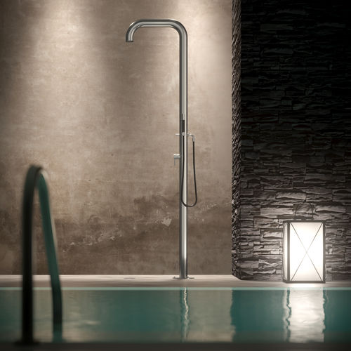 multi-function outdoor shower / stainless steel / home / commercial