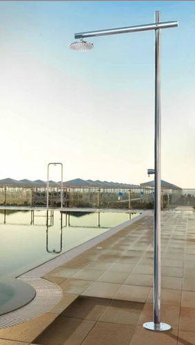 Pool garden shower / stainless steel ONDA D50 Fontealta