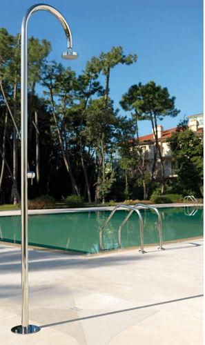 Pool garden shower / stainless steel ORIGO C50 MIX Fontealta