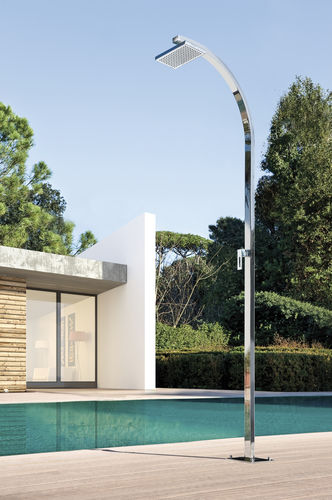 Stainless steel outdoor shower ARKO Q5.3 MIX Fontealta