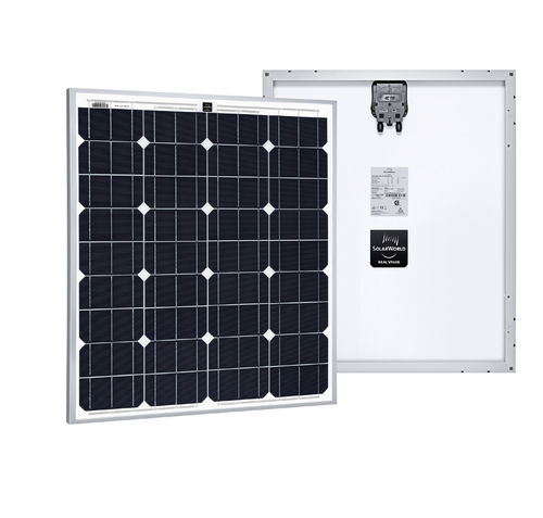 Monocrystalline PV panel / standard / self-cleaning / with aluminum frame SUNMODULE SW : 80 RHA SOLARWORLD