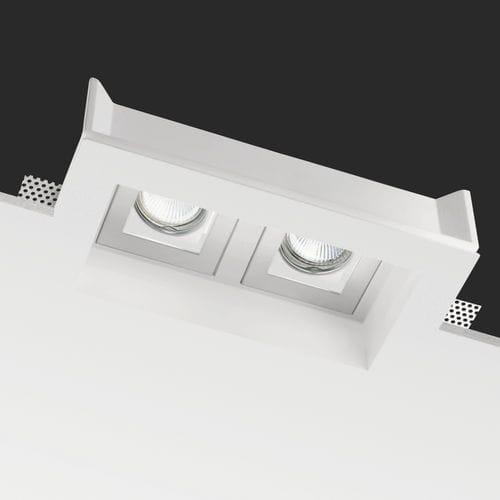 recessed ceiling spotlight / indoor / LED / rectangular