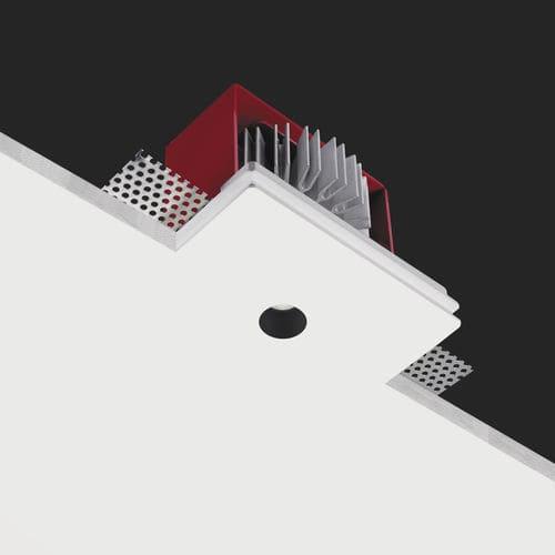 recessed ceiling spotlight / indoor / LED / round