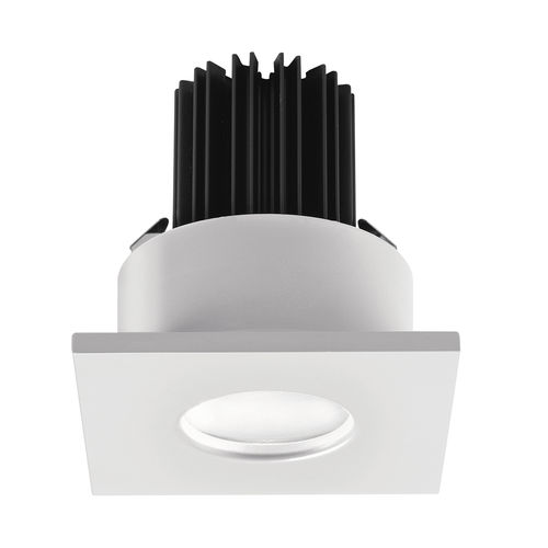recessed downlight / bathroom / for outdoor use / LED