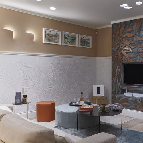 recessed ceiling light fixture / recessed wall / LED / square