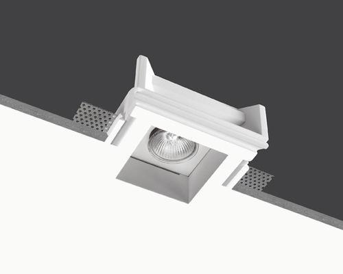 recessed downlight / LED / halogen / square
