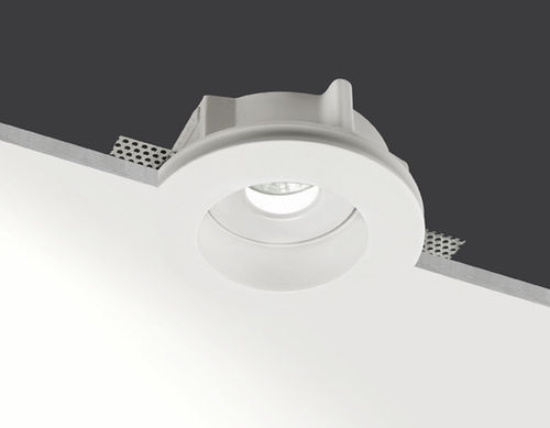 recessed downlight / for outdoor use / LED / halogen
