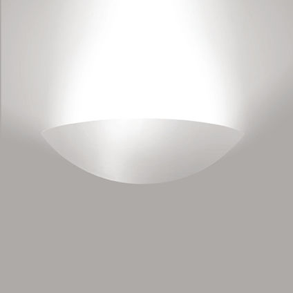 contemporary wall light / Aircoral® / halogen / curved