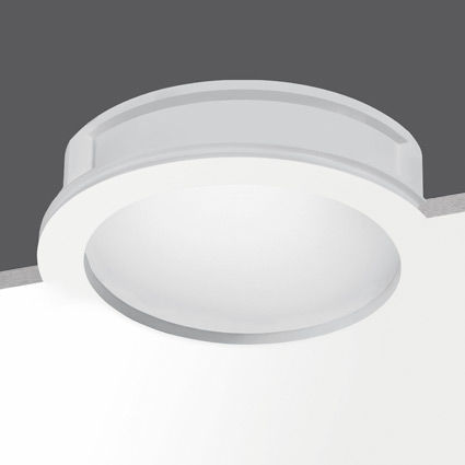 recessed downlight / LED / fluorescent / round