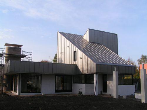 zinc-titanium roofing / waterproof
