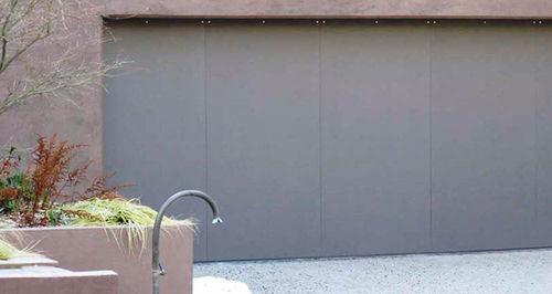 sliding garage door / steel / automatic