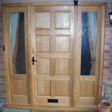 Entry door / swing / solid wood / oak. BANK Broadleaf Timber  sc 1 st  ArchiExpo & Entry door / swing / solid wood / oak - BANK - Broadleaf Timber
