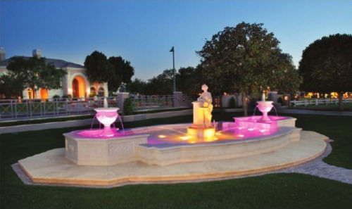 LED floodlight / submersible / for fountains LED160 SERIES - RGB OR WHITE RING LIGHT Crystal Fountains