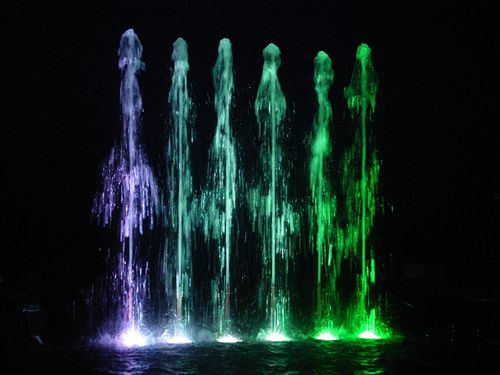 fountain jet - Crystal Fountains