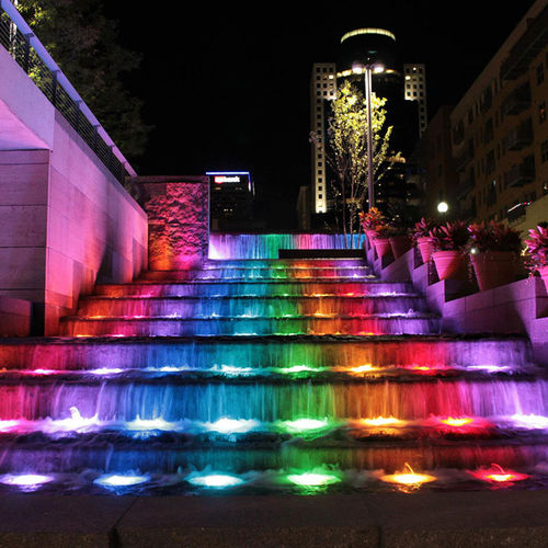 LED floodlight - Crystal Fountains