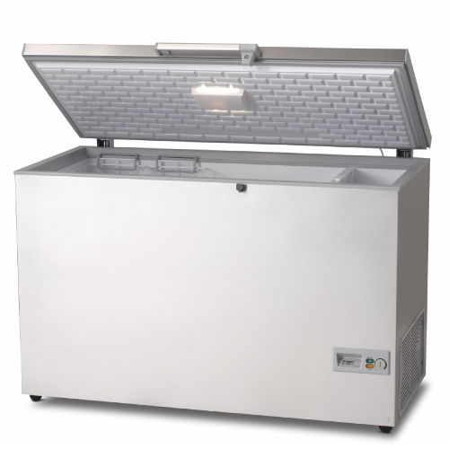 chest freezer commercial stainless steel hf 506 vestfrost